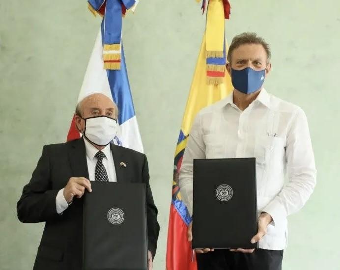 RD y Ecuador se comprometen a identificar posibilidades de negocios