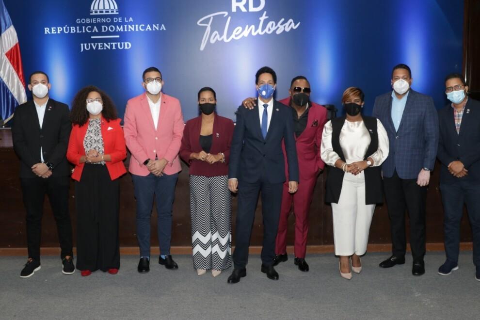 """Ministerio de la Juventud lanza el programa artístico """"RD Talentosa"""""""