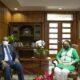 Procuradora general sostiene reunión de trabajo con el ministro de Energía y Minas