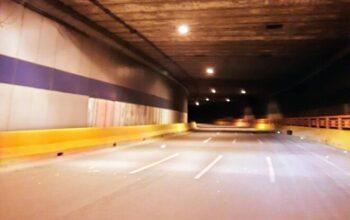 Ayuntamiento SDE, el MOPC y EDEESTE iluminan puente desnivel llevaba años a oscuras