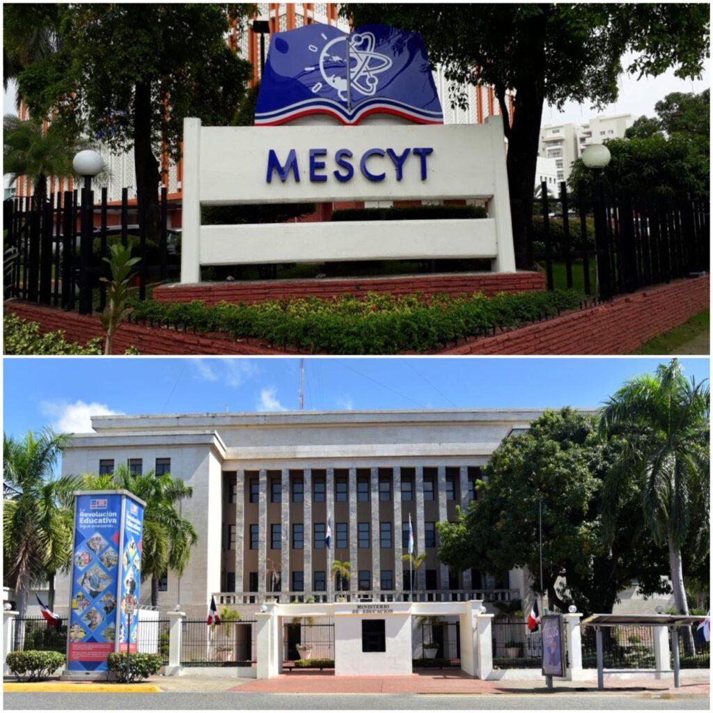 Mescyt convocará a diálogo con las universidades y otros sectores para debatir normativa 09-15