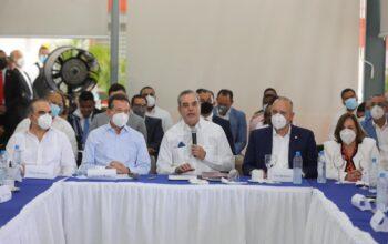 Presidente Abinader respalda relanzamiento del parque Distrito Industrial Santo Domingo Oeste para que genere 30 mil empleos