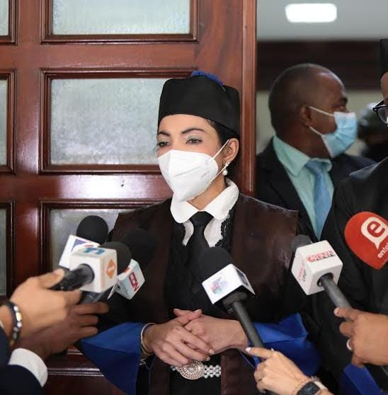 """""""Habrá que regalarle un mapa a la defensa"""": Yeni Berenice tras salir de audiencia medida de coerción caso Medusa"""