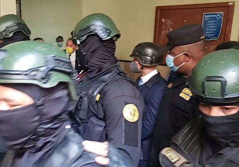 A puertas cerradas conocen coerción a Jean Alain y demás implicados