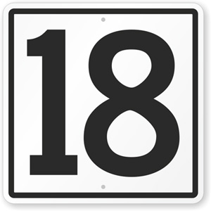Number 18, Eighteen in numerology | Numerology Meaning