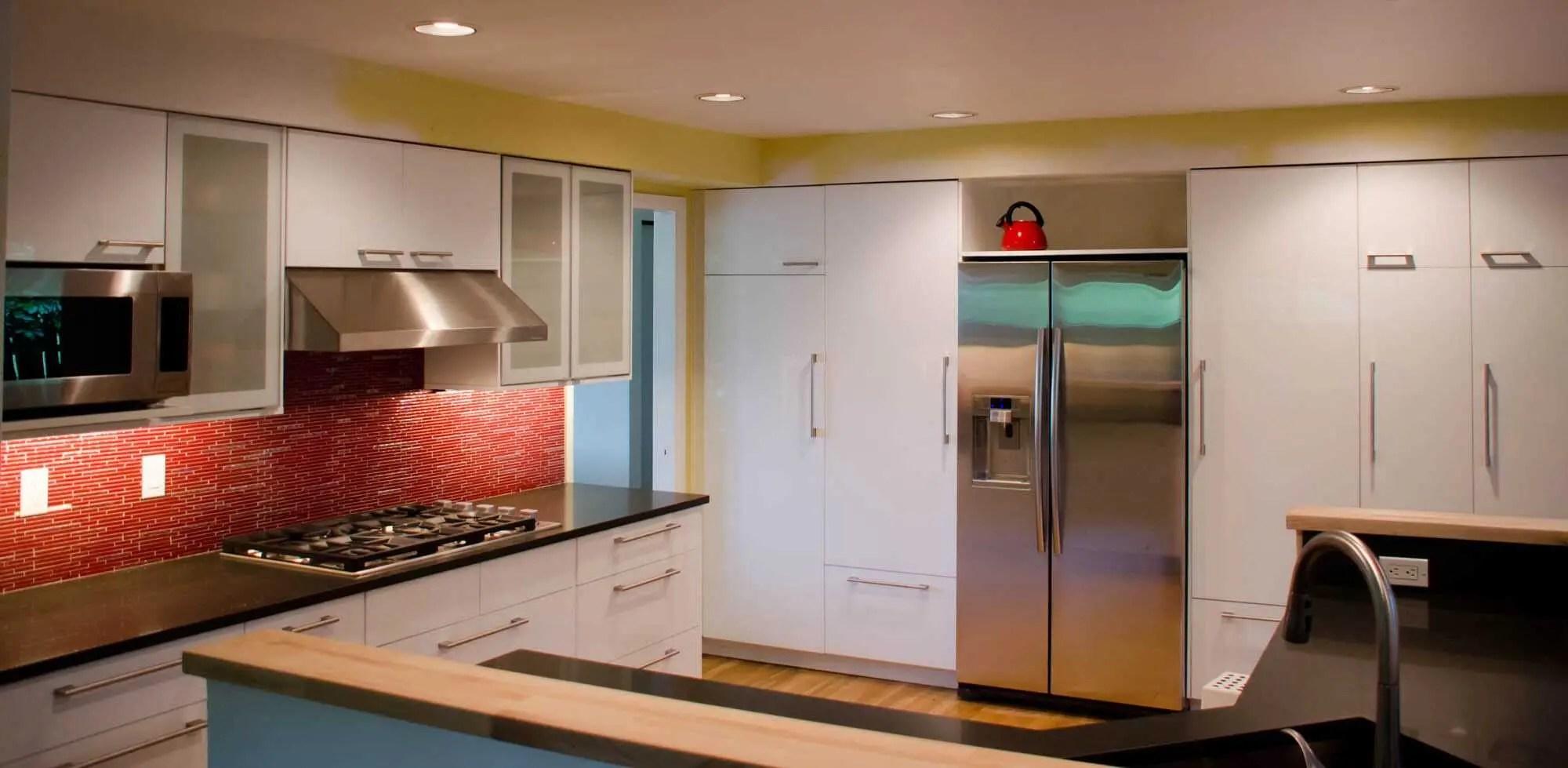 an ikea kitchen that pops kitchen cabinets ikea IKEA Kitchen Kirkland 4