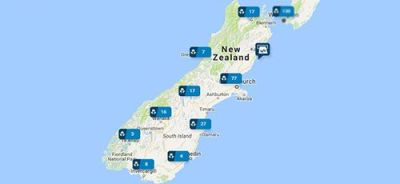 ANZ Branches in South Island