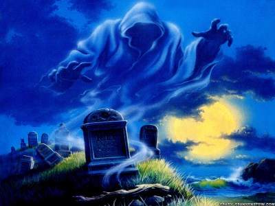 Halloween Memory: The Ghost in the Graveyard | OCTOBER ON THE INTERNET