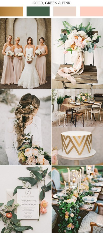 Top 10 Gold Wedding Color Ideas for 2019 Trends - Oh Best ...
