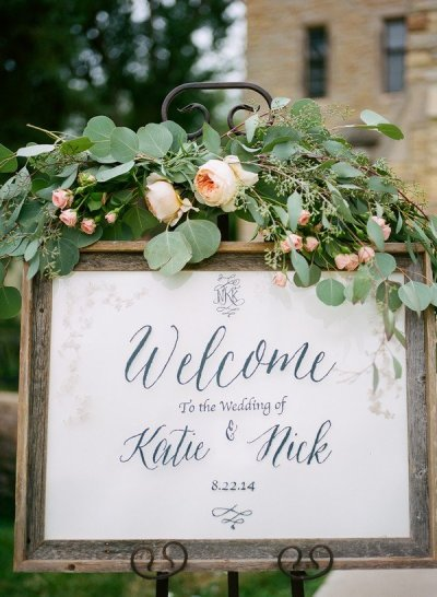 20 Brilliant Wedding Welcome Sign Ideas for Ceremony and ...