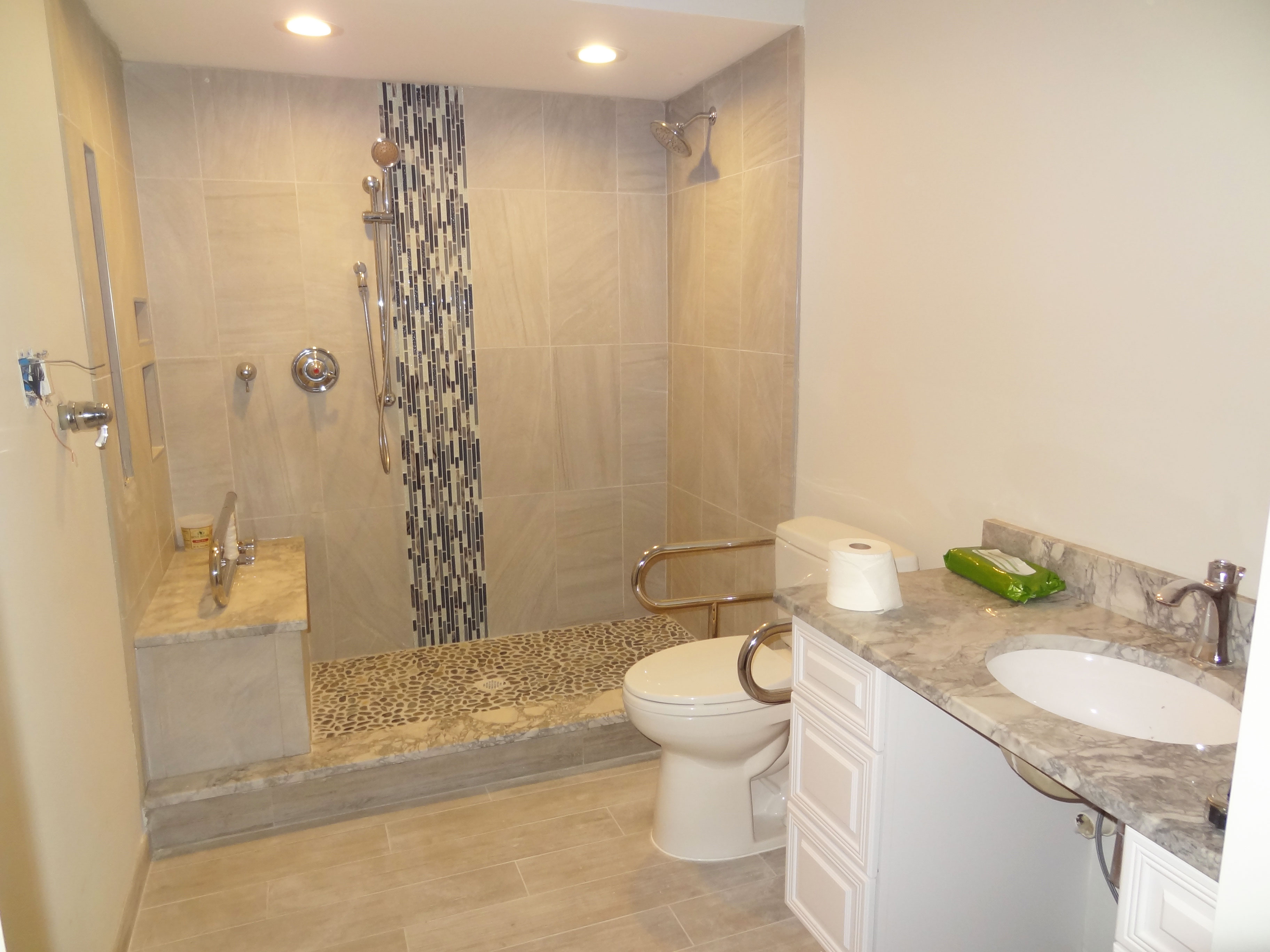 ohidesign kitchen remodeling manassas va Bathroom Remodel 4