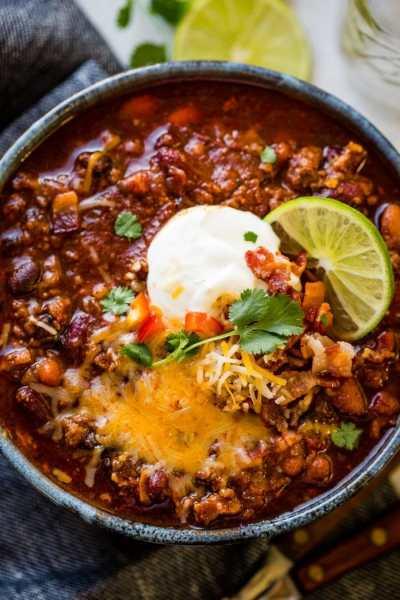 Award Winning Instant Pot Chili Recipe - Oh Sweet Basil