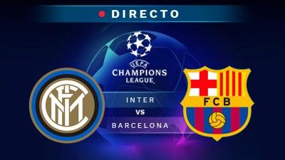 Inter de Milán - Barcelona, en directo: Champions League 2018-2019