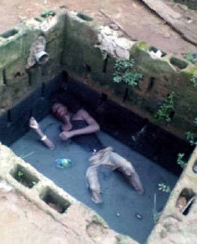 Sad! Man found dead inside uncovered soak-away - Olori Supergal