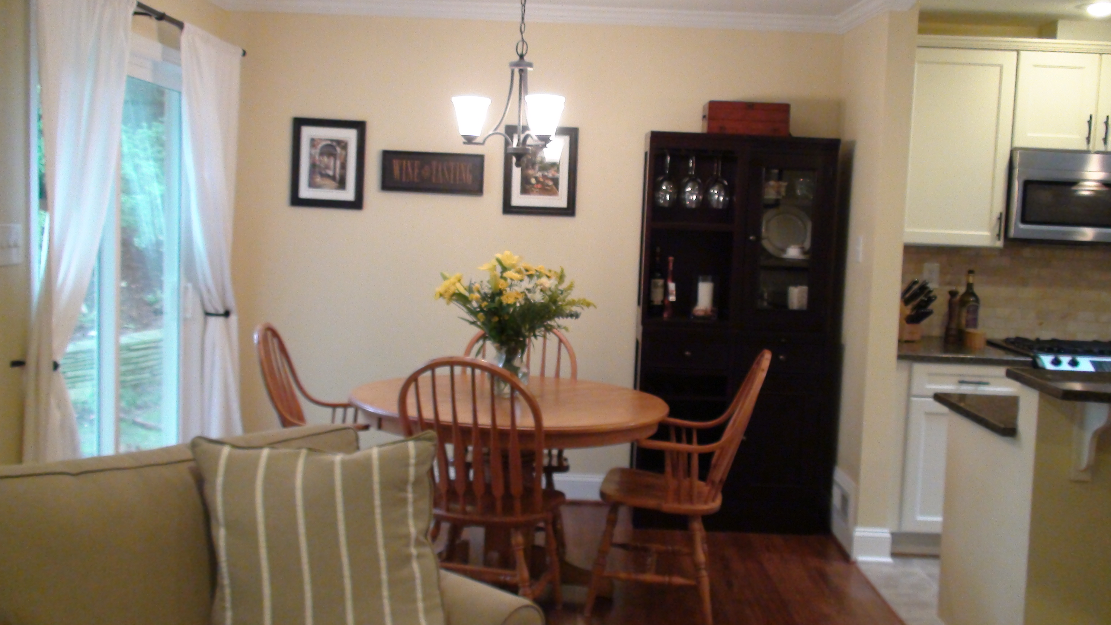 dining in style eat in kitchen table Dining room table in previous home