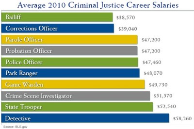 Top 10 Careers with a Criminal Justice Degree