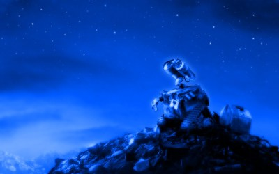 Wall-E Looking At The Stars 1 by PixelOz on DeviantArt