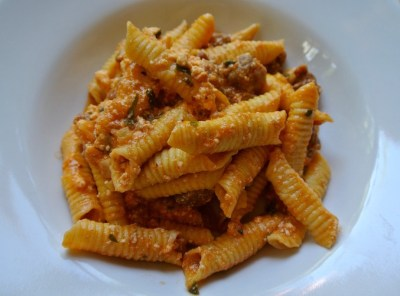 Garganelli with sausage and fennel ragù - Our Italian Table