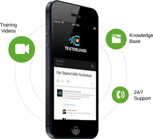 Text Deliver SMS Software By Mark Thompson