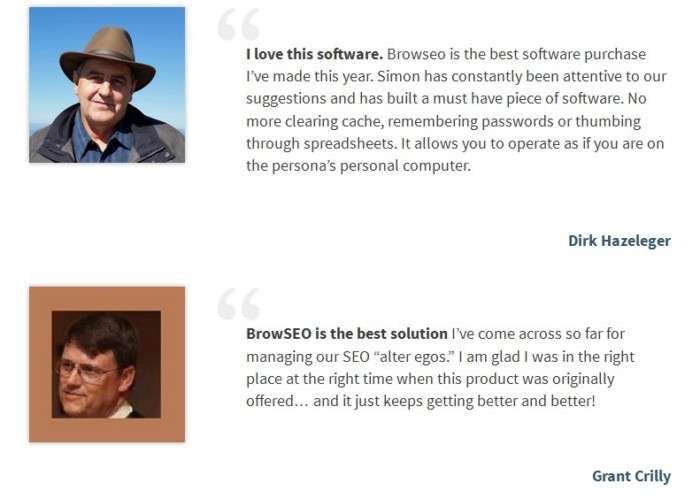 BrowSEO Solo 3.0 Software by Simon Dadia