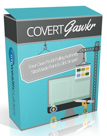 Covert Gawkr WP Theme Website Builder Software by Soren Jordansen & John Merrick
