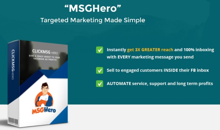 MSGHero Unlimited Upgrade OTO by Brad Stephens