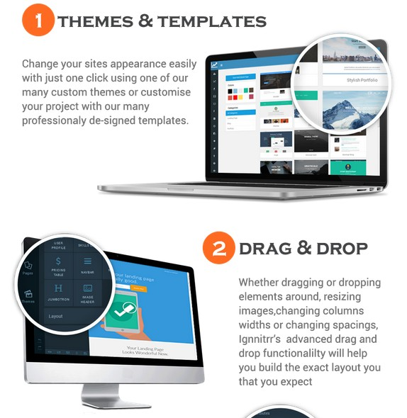 Site Ignitrr Site And HTML Builder Software by Griff