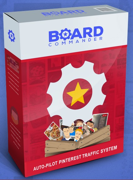 Board Commander Suite AutoPilot Pinterest Traffic System Software by Stefan Ciancio