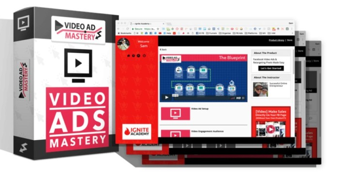 Video Ad Mastery Facebook Training Course by James Sides