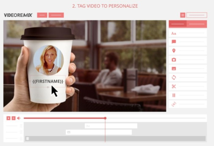 VideoRemix SmartVideo Video Editor Personalizer Software by Simon Warner