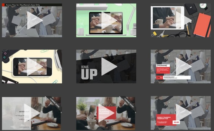 SmartVideo VideoRemix Templates Collective Upgrade OTO by Simon Warner