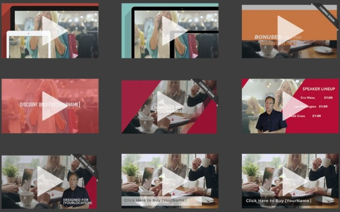 SmartVideo Templates Collective Upgrade OTO by Simon Warner