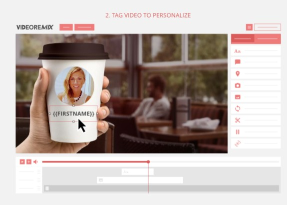 SmartVideo VideoRemix Personalizer Software by Simon Warner