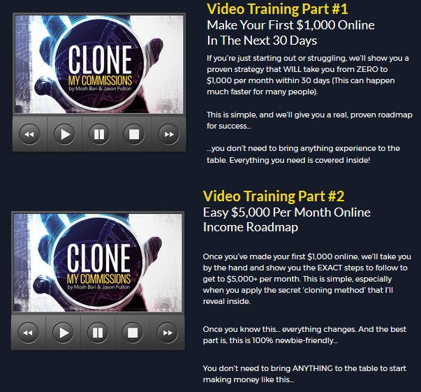 Clone My Commissions Training Formula by Jason Fulton