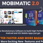 Mobimatic 2.0 Evolution Mobile App Builder Software by Ope Banwo Review – Best 1 Click Mobile App Builder Platform, The Revolutionary Software to build High Perfomance Android and iOS Mobile Apps Just Got Better, Faster And More Badass With More Exciting New Features and Power