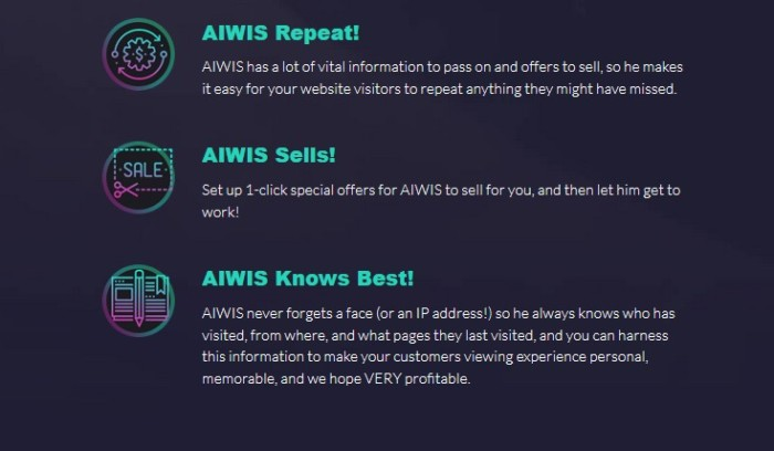 AIWIS Artificial Intelligence Website Interactive System Software by Craig Crawford