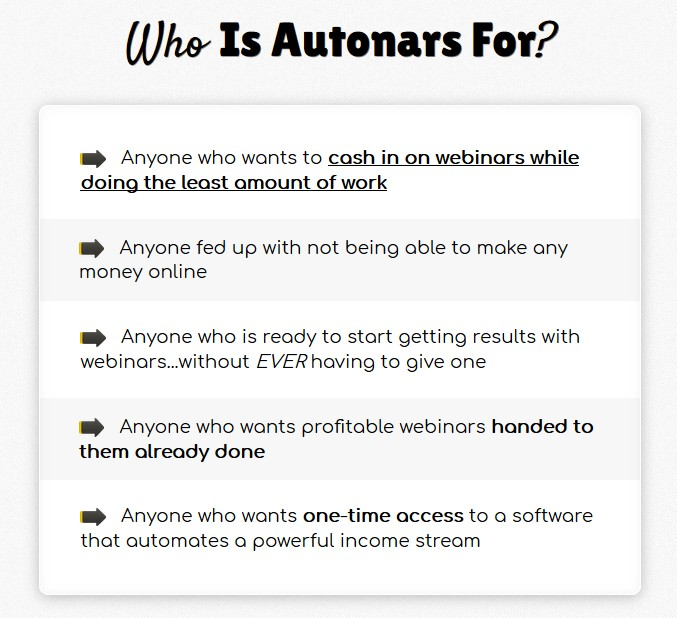 Autonars Automation Webinar App Software by Brett Rutecky