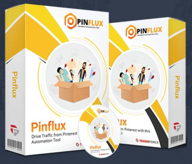 Pinflux Pinterest Automation Software by Cyril Gupta