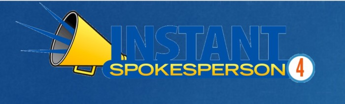 Instant Spokesperson Volume 4 by Ray Lane
