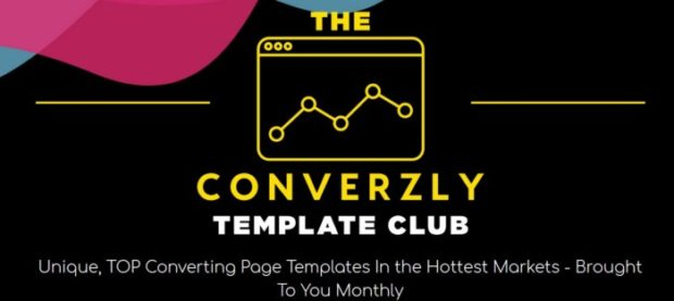 Converzly Template Club Upgrade OTO by Simon Harries