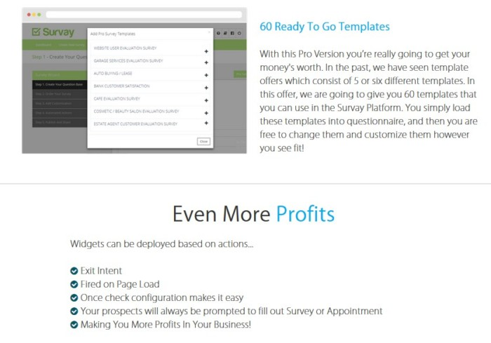 Survay Pro Survey Platform Software by Chad Nicely