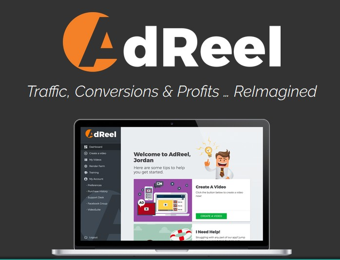 AdReel PRO Animated Video Ads Creator Software by Ryan Phillips