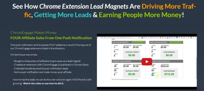 ChromEngage Chrome Extension Lead Magnets Software by Cindy Donovan