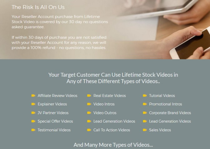 Lifetime Stock Video Reseller by Richard Madison