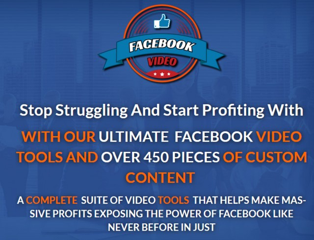 Marketers Madness Facebook Video ToolBox by Griff