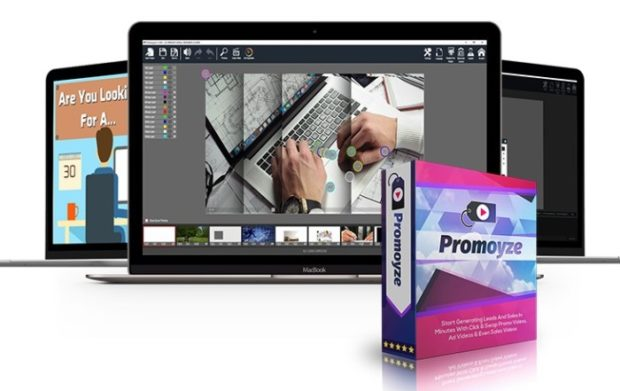 Promoyze Commercial Click and Swap Video Templates by Andrew Darius