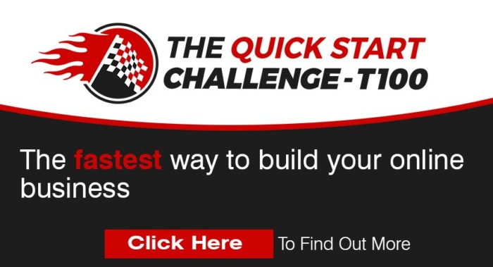 Quick Start Challenge T100 Evolution Coaching Program by Craig Crawford