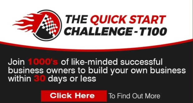 Quick Start Challenge T100 Coaching Program by Craig Crawford
