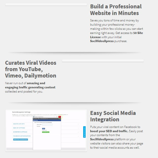 SociVideoXpress Video WebSite Builder by Han Fan