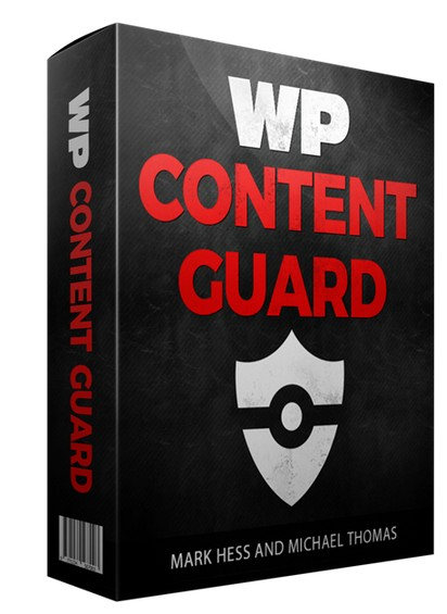 WP Content Guard WordPress Plugin Software by Mark Hess